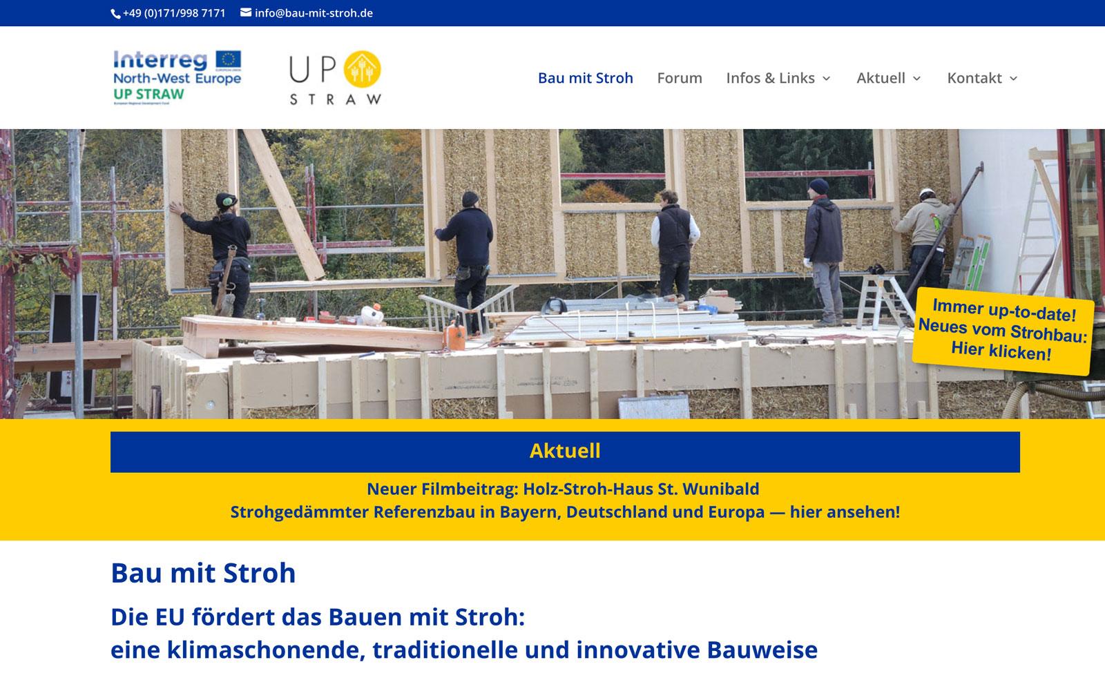 EU Interreg-Programm – Online-Kommunikation