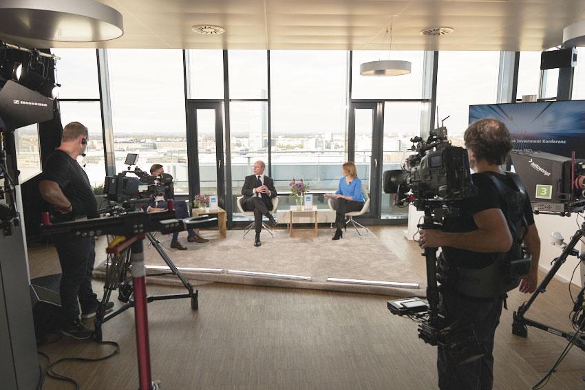Amundi Deutschland – Finanzkonferenz als TV-Talk